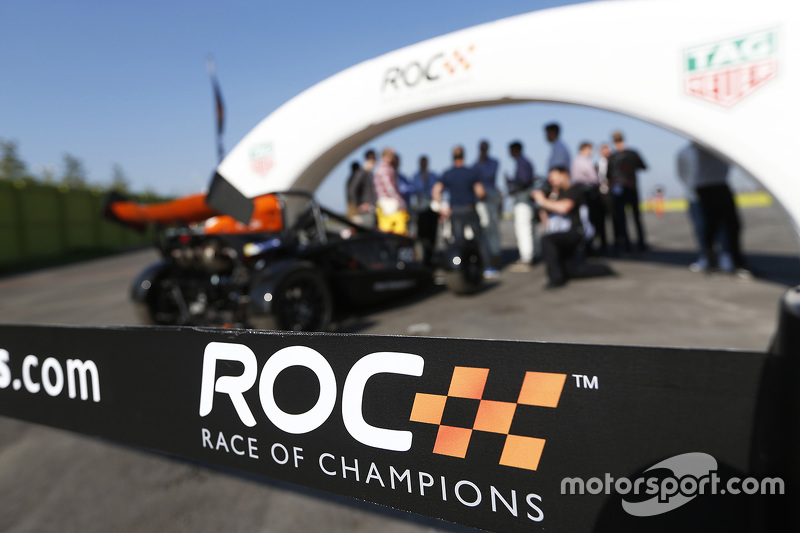 Race of Champions signage