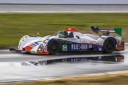 #54 CORE autosport, Oreca FLM09: Jon Bennett, Colin Braun