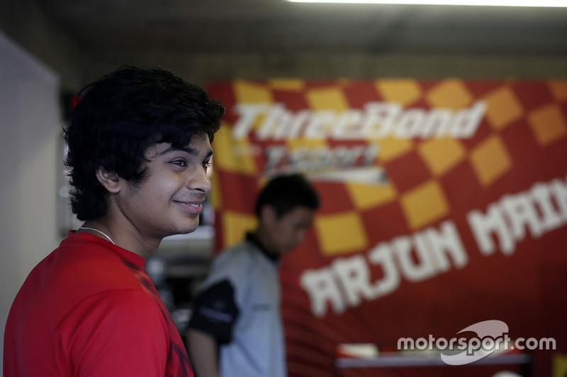 Arjun Maini, Van Amersfoort Racing, Dallara Volkswagen