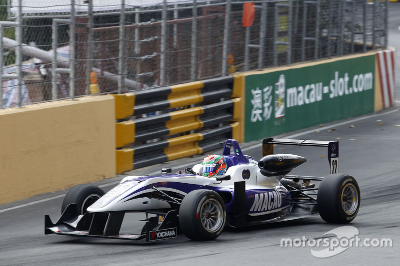 Chang Wing Chung, Fortec Motorsport Dallara Mercedes