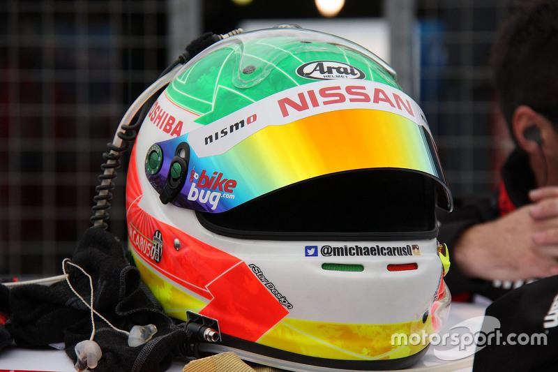 Helm von Michael Caruso, Nissan Motorsports