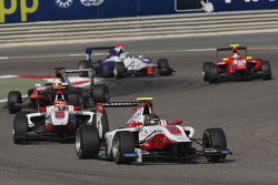 Marvin Kirchhofer, ART Grand Prix leads Esteban Ocon, ART Grand Prix