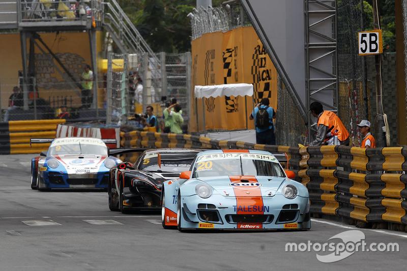 Dylan Derdaele, Gulf Racing JP, Porsche 997 GT3R