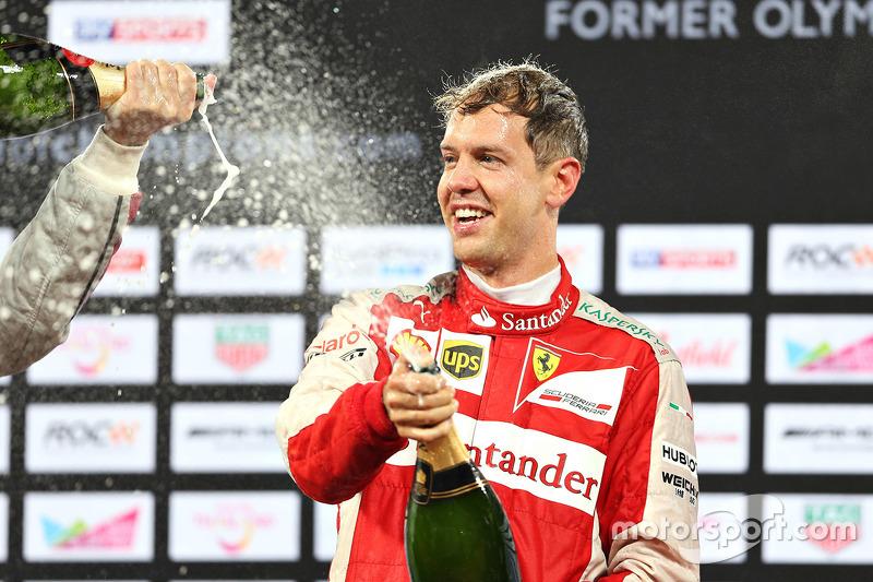 ROC - Le vainqueur Sebastian Vettel