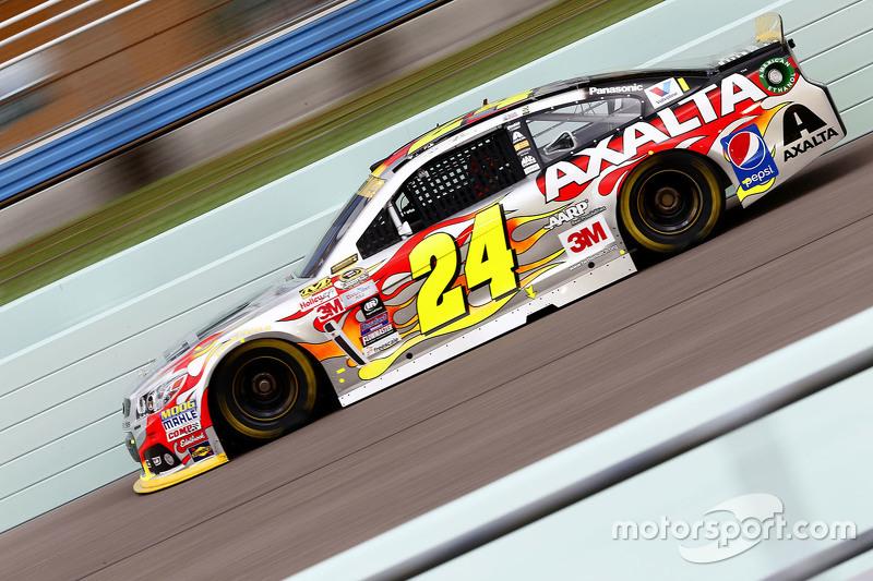 Jeff Gordon und Rennen Nummer 797