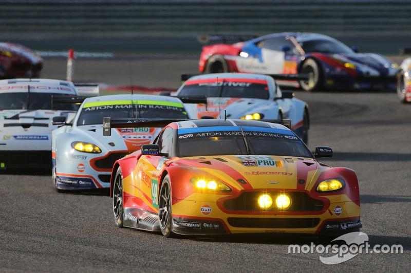 #99 Aston Martin Racing, Aston Martin Vantage GTE: Alex MacDowall, Fernando Rees, Richie Stanaway