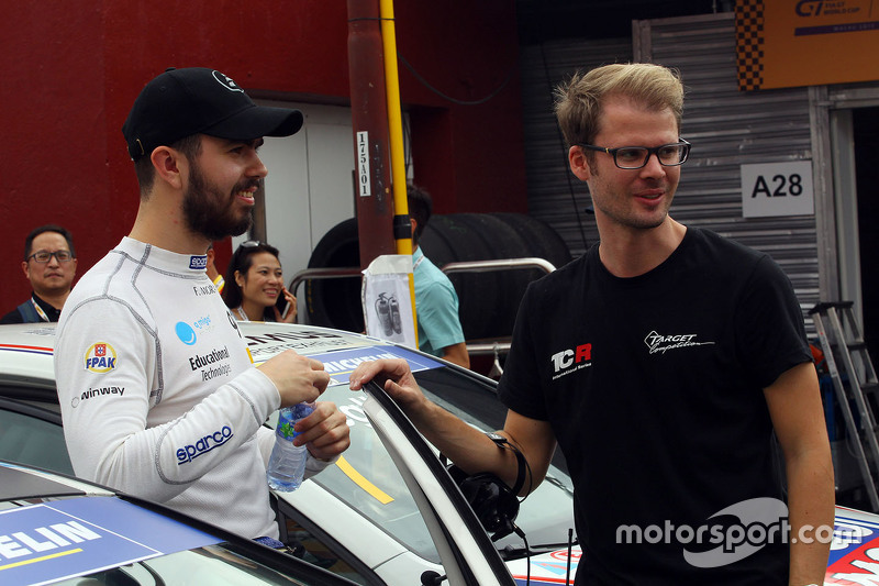 Francisco Mora, Seat Leon, Target Competition