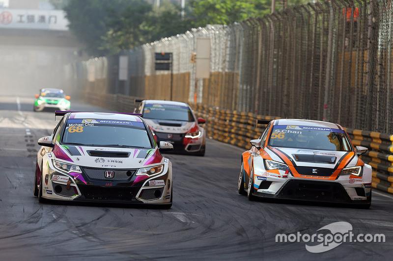 Michael Choi, SEAT Leon, Prince Racing Hong Kong ve Samson Chan, SEAT Leon, Roadstar Yarış Takımı