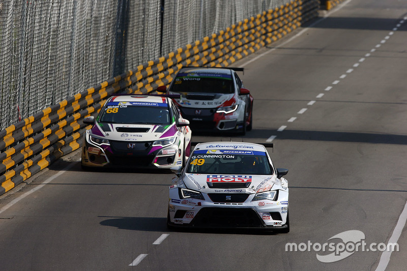 Guillaume Cunnington, SEAT Leon, Asia Racing Team; Michael Choi, SEAT Leon, Prince Racing Hong Kong;