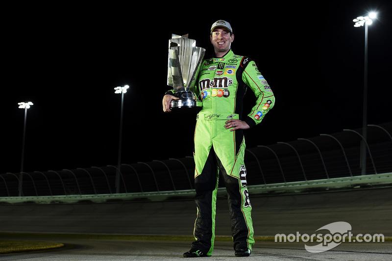 1. und Champion NASCAR Sprint-Cup 2015 Kyle Busch