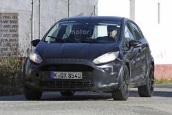 Ford Fiesta mule