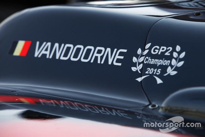 Das Auto von Stoffel Vandoorne, ART Grand Prix