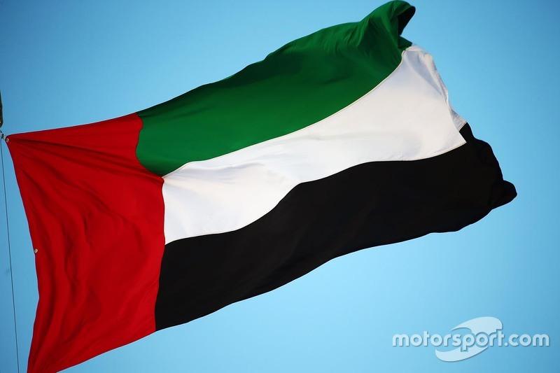 Flagge von Abu Dhabi