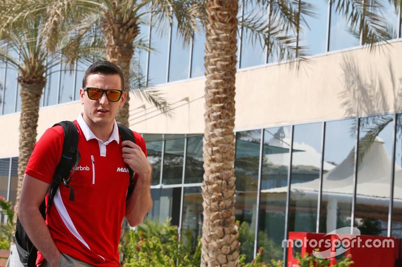 Fabio Leimer, Manor Marussia F1 Team, Test- und Ersatzfahrer