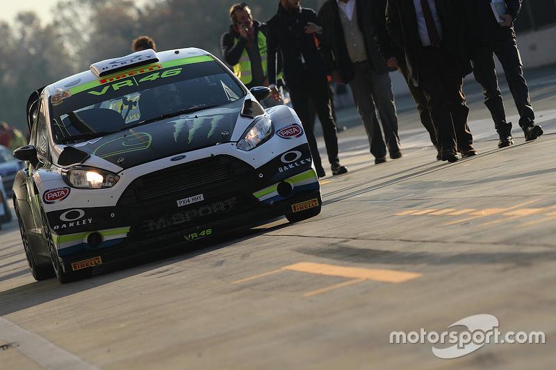 Alessio Salucci und Mitia Dotta, Ford Fiesta