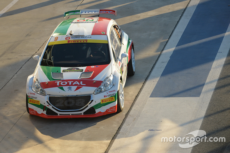 Paolo Andreucci und Anna Andreucci, Peugeot 208 T16