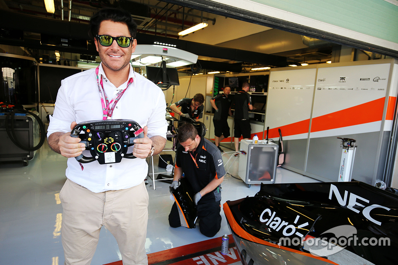Mohammad Reza Golzar, Актор,, guest  Sahara Force India F1 Team