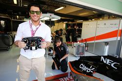 Mohammad Reza Golzar, Актор,, guest  Sahara Force India F1 Team