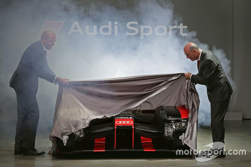 Audi stelt nieuwe R18 voor
