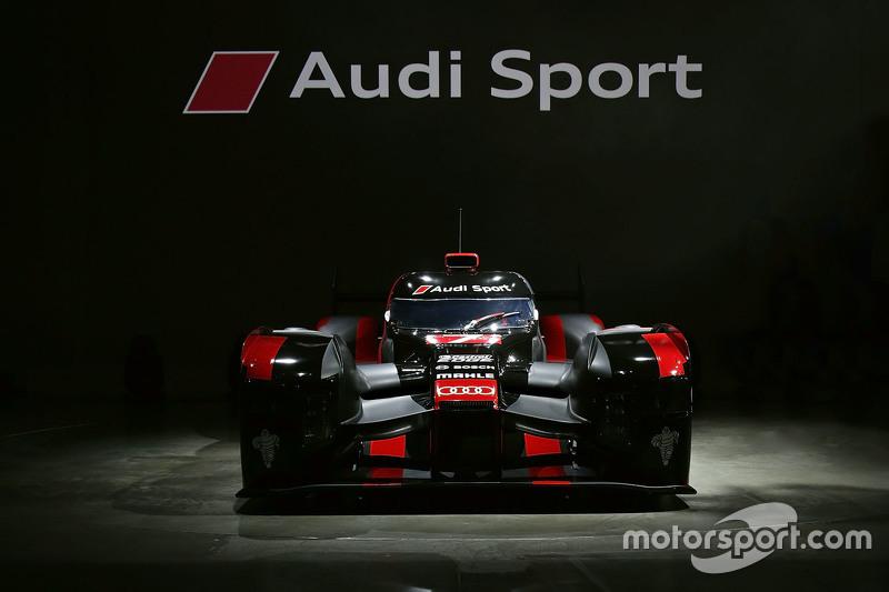 Audi R18 e-tron quattro heeft een zwart-rode kleurstelling gekregen