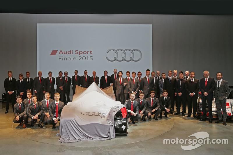 Les pilotes Audi Sport