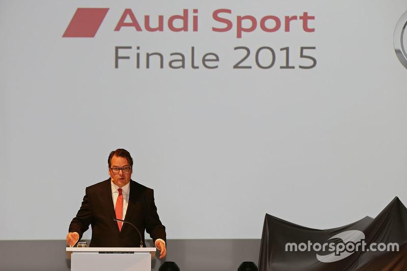 Dr. Dietmar Voggenreiter, Vorstandsmitglied der AUDI AG, Sales und Marketing