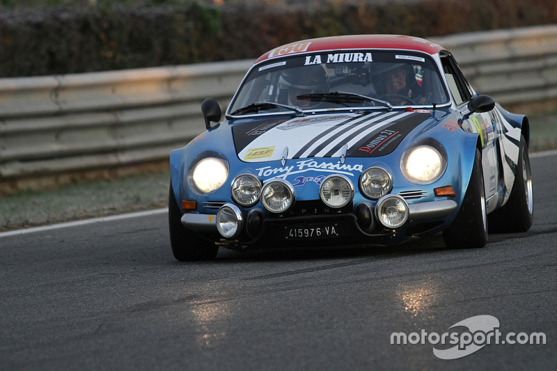 Historischer Renault Alpine