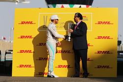 Льюис Хэмилтон, Mercedes AMG F1 получает приз DHL за быстрейший круг