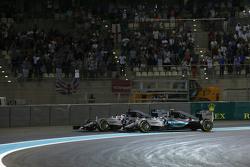 Nico Rosberg y Lewis Hamilton, Mercedes AMG F1 W06