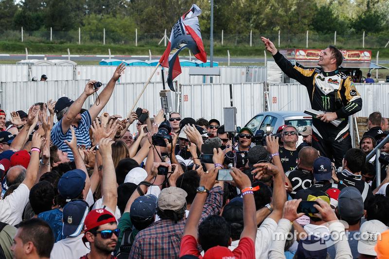 Rallycross-Weltmeister 2015: Petter Solberg, SDRX, Citroën DS3 RX