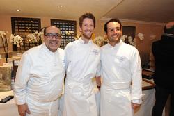 Philippe Da Silva, Romain Grosjean et Alexander Levy
