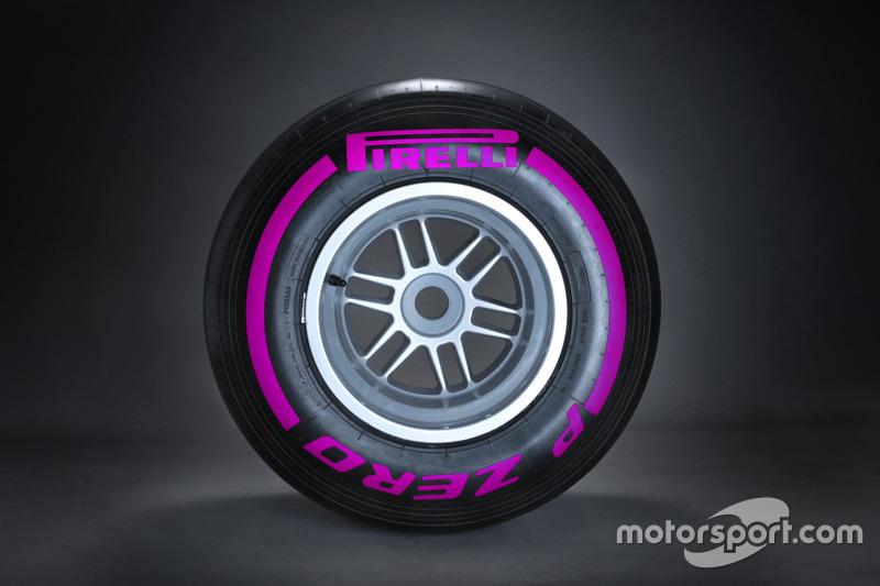 Pirelli ultrasoft tyre