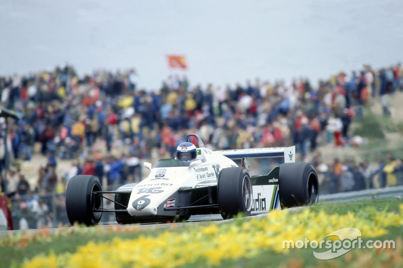 1982: Williams FW08 Ford