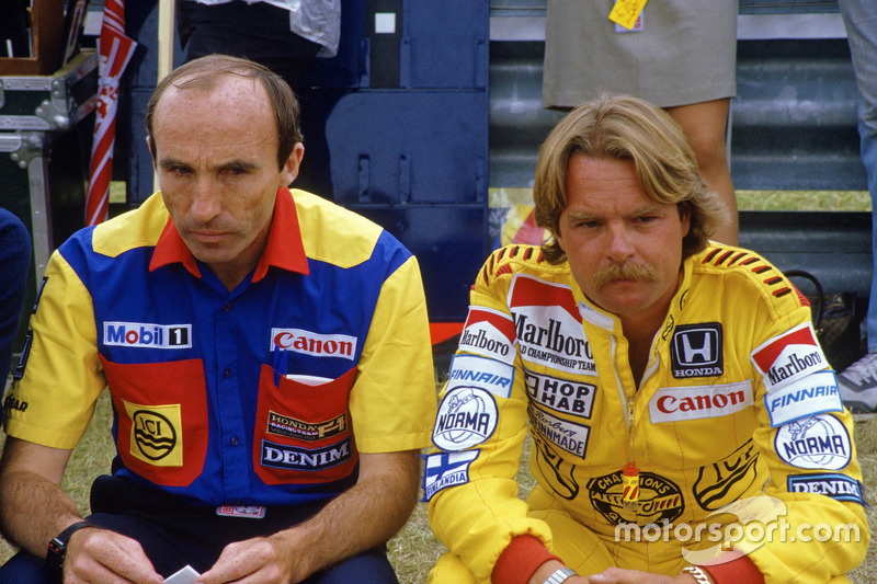 Frank Williams en Keke Rosberg, Williams