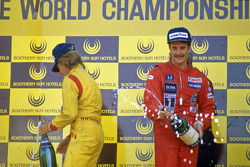 1. Nigel Mansell, Williams; 2. Keke Rosberg, Williams