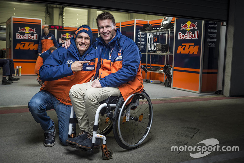 Alex Hofmann und Pit Beirer, KTM, Leiter Motorsport