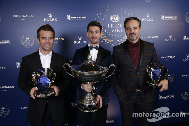 Sebastien Loeb, Citroën World Touring Car team, Jose Maria Lopez, Citroën World Touring Car team, e Yvan Muller, Citroën World Touring Car team