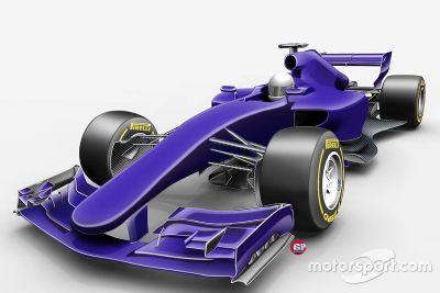 Proposed 2017 F1 design