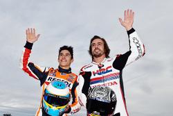 Marc Marquez e Fernando Alonso
