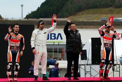 Dani Pedrosa, Fernando Alonso, Marc Marquez