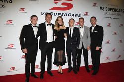 Mark Winterbottom, Prodrive Racing Avustralya Ford, Fabian Coulthard, Brad Jones Racing Holden, Craig Lowndes, Triple Eight Race Engineering Holden, David Reynolds, Rod Nash Racing Ford, James Courtney, Holden Yarış Takımı ve Delta Goodrem