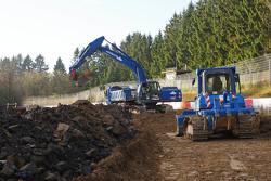 Bauarbeiten an der Nordschleife