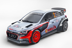 2016 现代i20 WRC 赛车