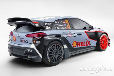 现代发布2016款i20 WRC赛车