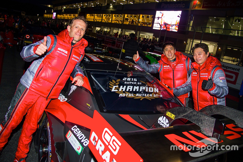 Nissan's Super GT drivers