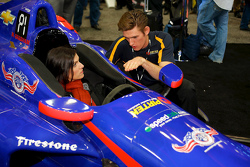 Taya Kyle und Matt Brabham