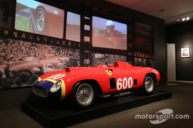Juan Manuel Fangio's 1956 Ferrari 290 MM