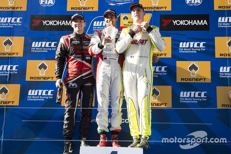 Norbert Michelisz, Honda Civic WTCC, Zengo Motorsport, Mehdi Bennani, Citroën C-Elysee WTCC, Sébasti