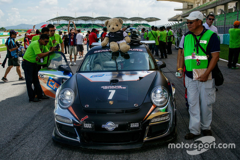 #7 Team NZ Porsche 997 Cup: John Curran, Graeme Dowsett, Will Bamber, Alif Hamdan