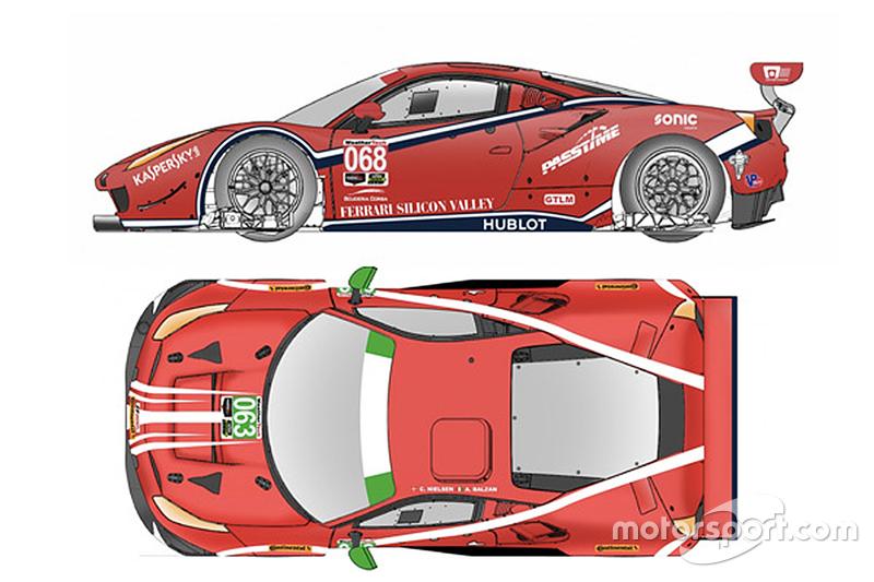 Scuderia Corsa Ferrari Ferrari 488 GTE